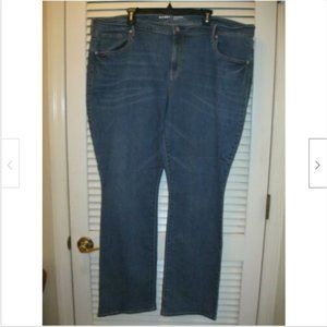 Old Navy Size 20 Denim Blue Jeans Mid Rise Bootcut